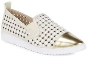 Carrie Laser-Cut Diamond Sneakers