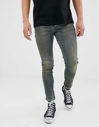 89c7b144e1b Asos Design DESIGN 12.5 oz super skinny jean in tint