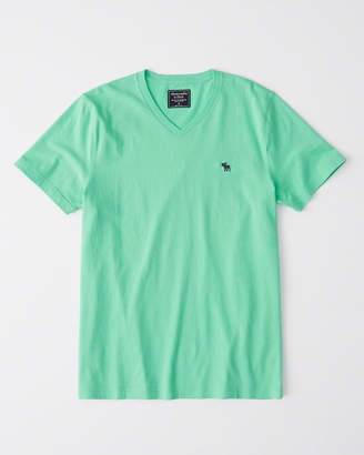 Abercrombie & Fitch Short-Sleeve Icon V-Neck Tee