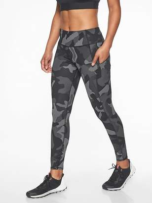 Athleta Camo Contender 7/8 Tight