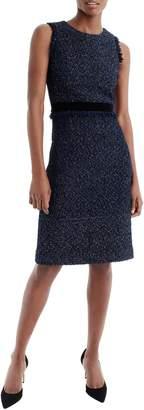 J.Crew Sparkle Tweed Dress