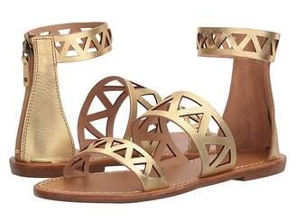 Soludos Geo Laser Cut Band Sandal Women's Sandals