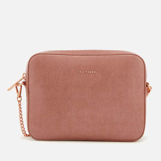 Ted Baker Women's Marciee Core Leather Camera Cross Body Bag