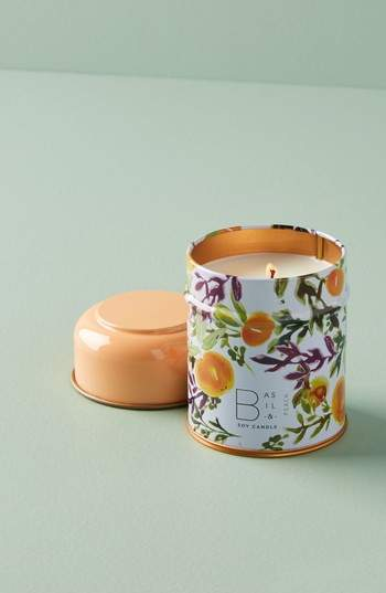 Garden Market Candle Tin