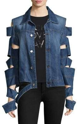 Each X Other Cut Out Denim Jacket
