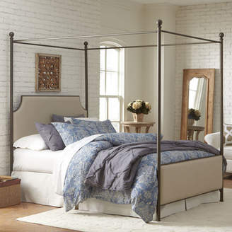Birch Lane Williston Upholstered Canopy Bed