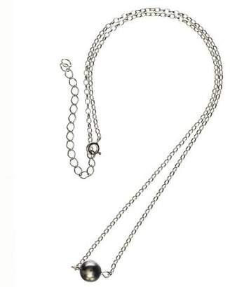 Black Cressida Single Tahitian Pearl Pendant