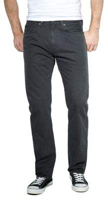 Levi's 505 Regular-Fit Graphite Twill Jeans