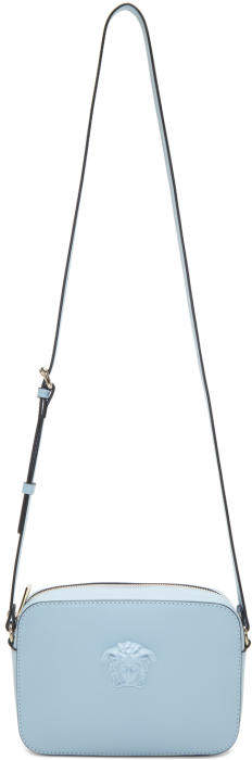 Versace Blue Medusa Camera Bag