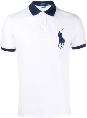 Polo Ralph Lauren contrasting details polo shirt