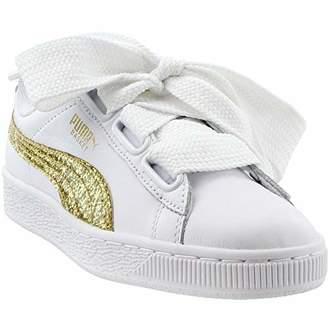 Puma Women s Basket Heart Glitter Wn Sneaker 70ea6dcb0