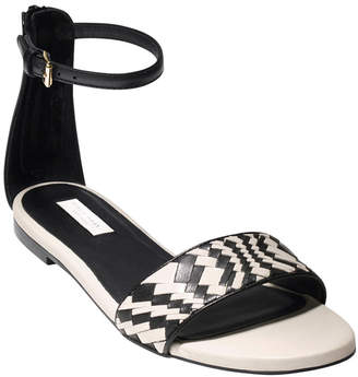 Cole Haan Genevieve Woven Leather Sandal