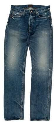 Chimala Distressed Slim Jeans
