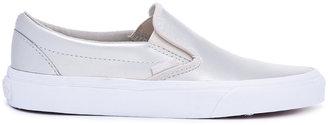 Vans metallic slip-on sneakers $60 thestylecure.com