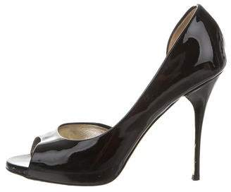 Valentino Patent Leather d'Orsay Pumps