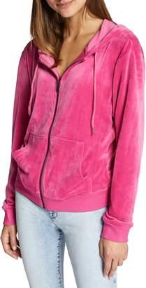 Sanctuary Melrose Raisin Hooded Jacket