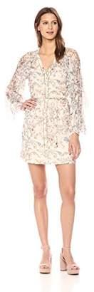 Haute Hippie Women's Romani Ruffle Dress