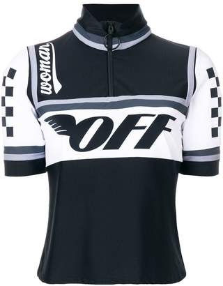 Off-White cycling T-shirt