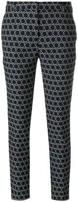 Kiltie slim-fit woven circle trousers