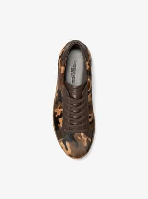 Michael Kors Jake Camouflage Calf Hair Sneaker