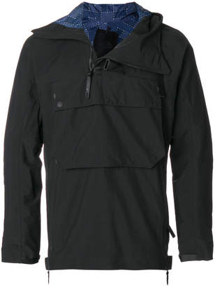 The North Face zipped neck hoodie