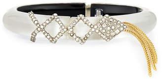 Alexis Bittar Crystal Lattice Fringe Bracelet