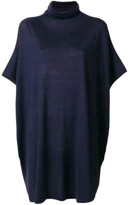 Jean Paul Gaultier Knott oversized high neck sweater