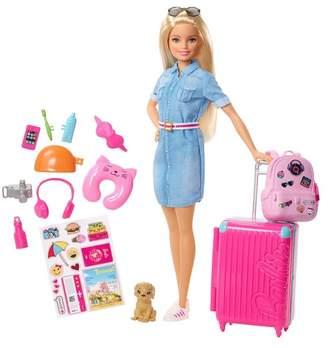 Mattel Inc. Barbie Doll & Travel Accessories Set
