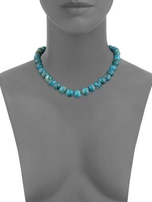 Tara Pearls Opaline Glass Beaded Choker Necklace