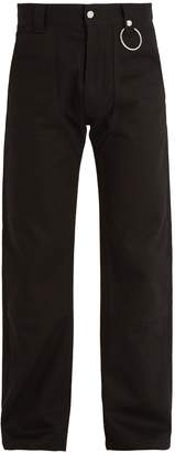 Givenchy Straight-leg cotton-drill trousers