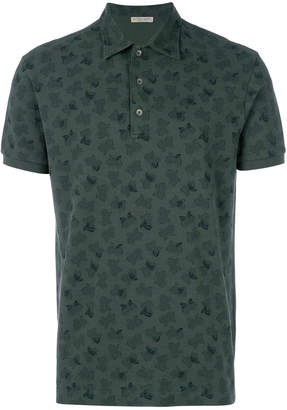 Bottega Veneta moss cotton polo