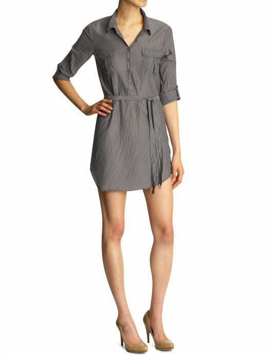Splendid Shirting Dress with Double Pockets