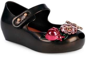 Mini Melissa Baby Girl's & Little Girl's Mini Ultragirl Floral Mary Jane Shoes