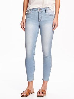 Mid-Rise Super Skinny Ankle Jeans $29.94 thestylecure.com