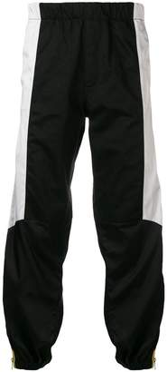 Givenchy contrast panel track pants