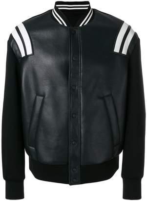 Neil Barrett Gang striped bomber jacket