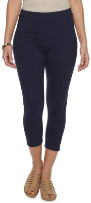 Croft & Barrow Women's Pull-On Capri Leggings