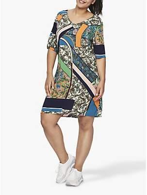 71f4c45b8a1 Junarose Curve Frias Scarf Print Dress