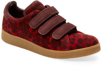 Jerome Dreyfuss Leather Animal Print Run Sneaker