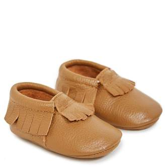 Itzy Ritzy Leather Baby Moccasins