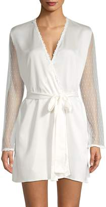 Flora Nikrooz Show Stopper Charmeuse Coverup