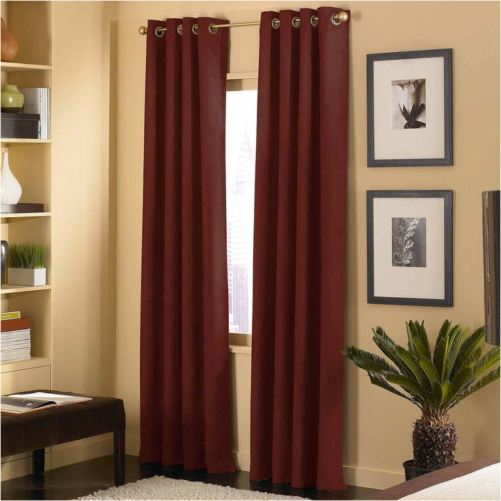 CHFChf Cameron Microsuede Grommet-Top Curtain Panel