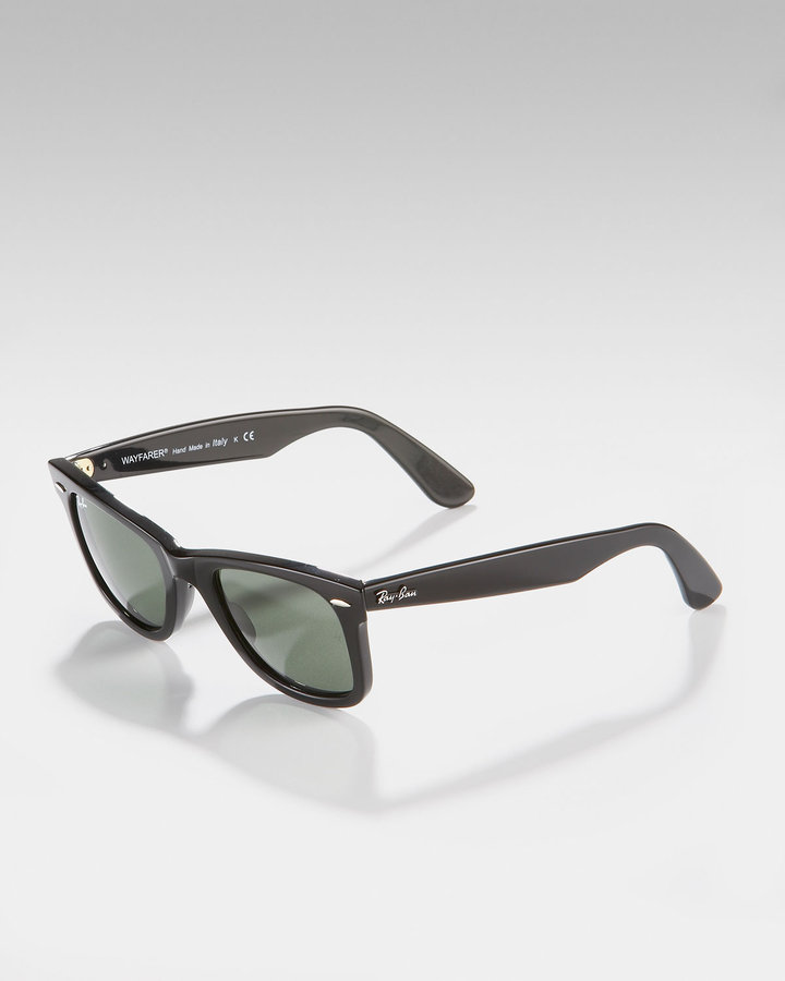 Ray Ban Original Wayfarer Sunglasses, Black