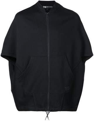 Y-3 oversized poncho jacket