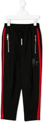 John Richmond Junior side stripe track pants