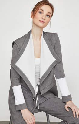 BCBGMAXAZRIA Zip Waist Wrap Jacket