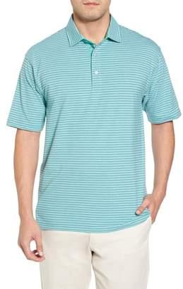 Bobby Jones Crest Stripe Polo