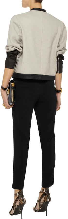 Alexander Wang Cropped crepe pants