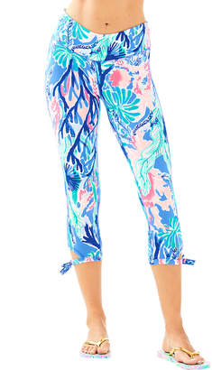 Lilly Pulitzer 21 Luxletic Gemma Weekender Cropped Legging