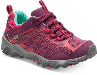 Merrell Big Girls Moab Low Waterproof Sneakers